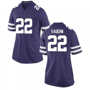 Deuce Vaughn Nike Kansas State Wildcats Women's Game Football College Jersey - Purple