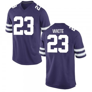 Dylan White Nike Kansas State Wildcats Youth Replica Football College Jersey - Purple