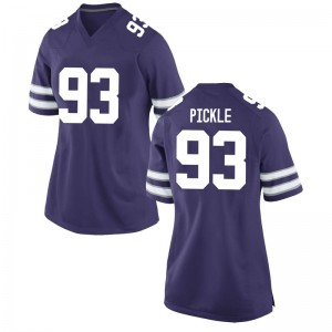 Jaylen Pickle Nike Kansas State Wildcats Women's Game Football College Jersey - Purple
